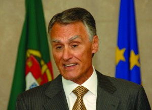 Anibal Cavaco Silva at the EC