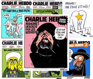 Cartoons do Charlie Hebdo