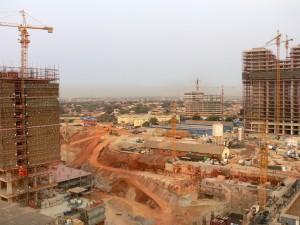 Construção na Maianga
