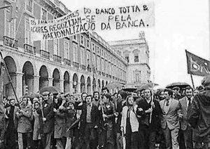 Manifestação a favor das nacionalizações