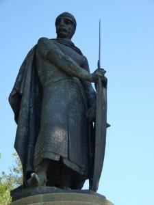 D. Afonso Henriques, primeiro Rei de Portugal