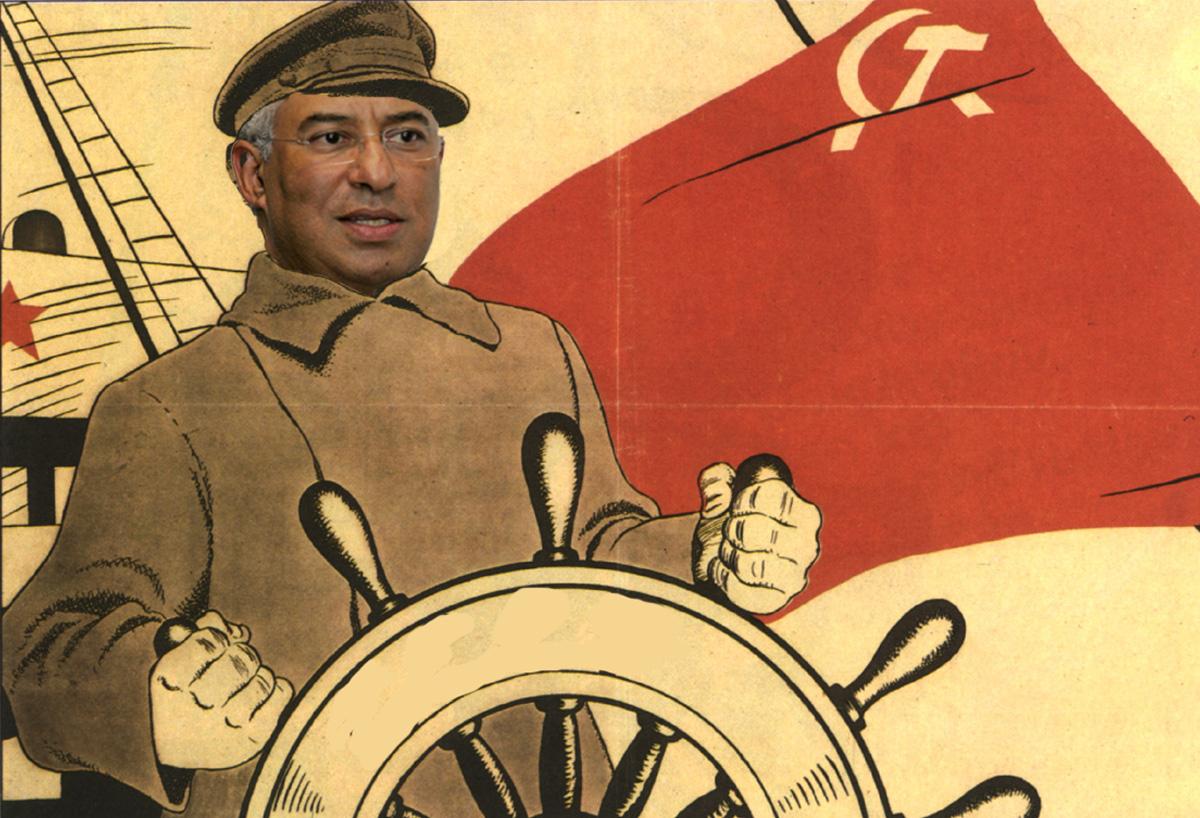 """Costa, o """"grande timoneiro"""" da frente de esquerda"""