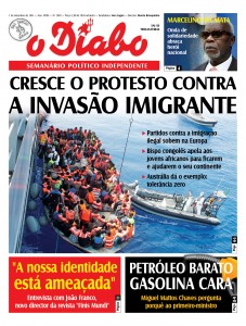 "No Verão de 2015, O DIABO deixava o aviso ""politicamente incorrecto""…"